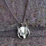 Yeni Tasarım Börü Dizisi Gümüş Kolyesi