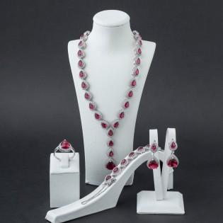 925 Ayar Gümüş Damla Model Set