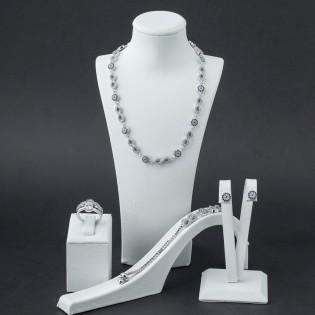 925 Ayar Gümüş Sonsuzluk Model Set