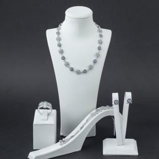 925 ayar Gümüş Kar Tanesi Model Set