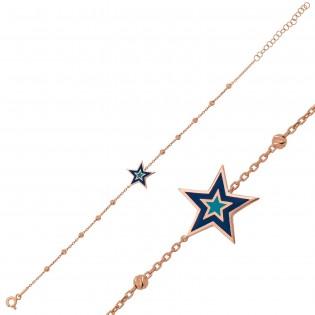 Gümüş Dorissa Yıldız Bileklik