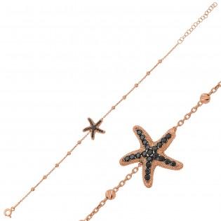 Gümüş Dorissa Deniz Yıldızı Bileklik